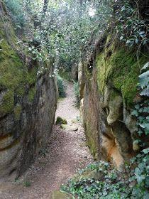 Entre las poblaciones de Vullpellac y Canapost se encuentra una antigua pedrera conocida como els Clots de Sant Julià.  Se trata de un conj...