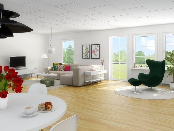Vardagsrum i modell Tyr.