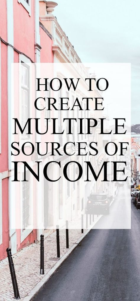 How to create multiple streams of income and work at home to make money online #makemoneyonline #workfromhome #makemoney