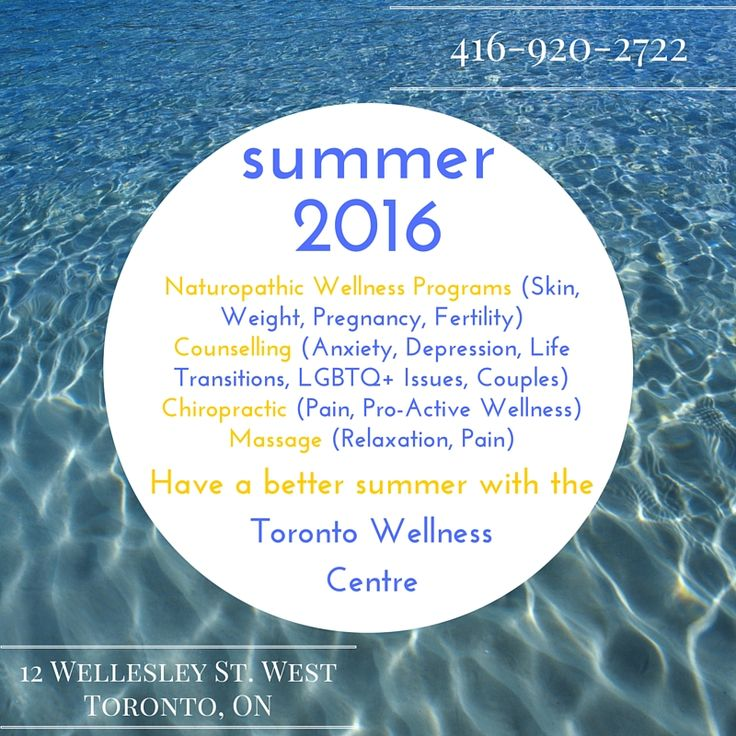Join us for all your wellness needs this summer in Toronto!