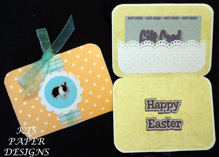 15 best diy gift card holder images on pinterest gift card kts paper designs fold open easter gift card holders negle Images