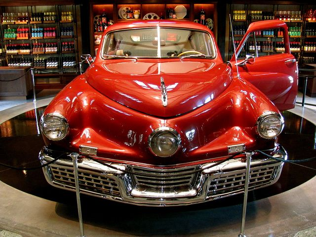 The Tucker, an amazing car way ahead of its time, love this car!