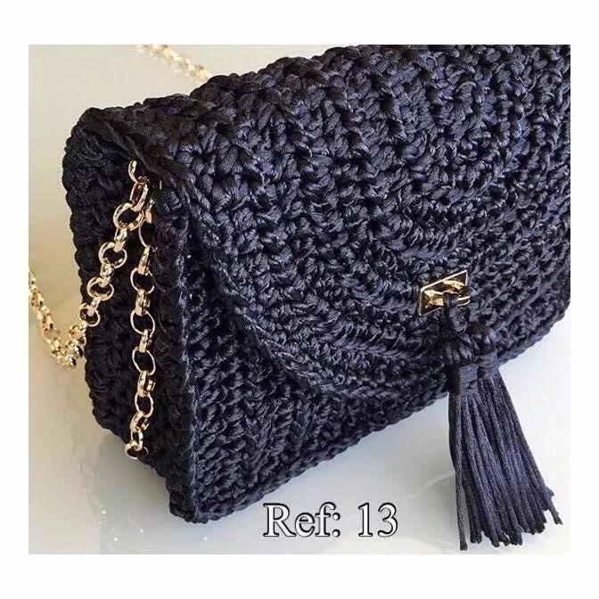 Bolsa De Ombro De Croche : Melhores ideias sobre bolsas de croch? no