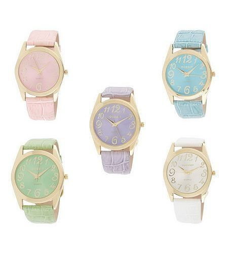 Watches pretty-pastels