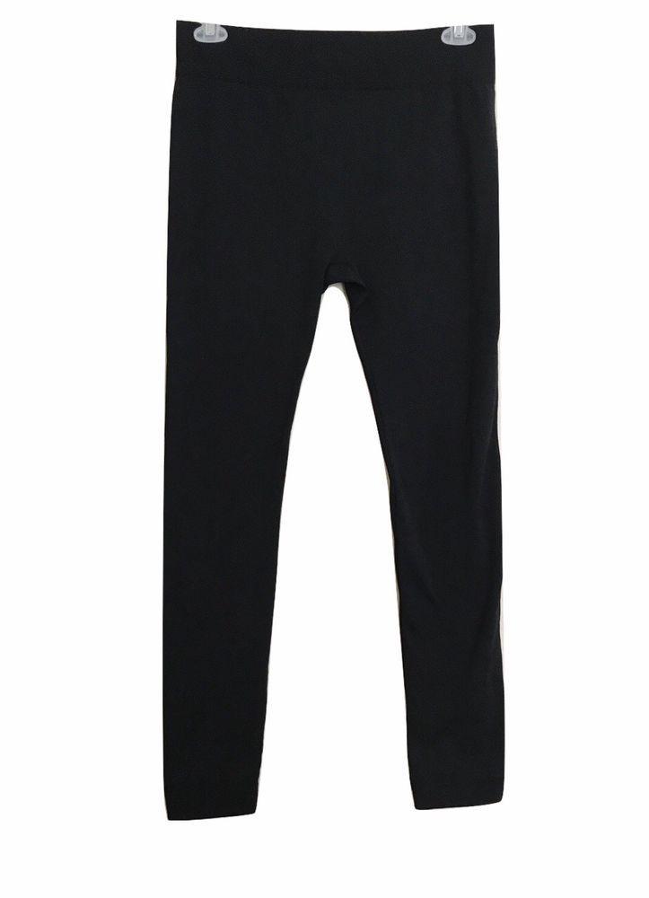 c0f61d2048a89 New Mix Plus Size XL XXL Womens Black Leggings Thick High Waist Long Pant  #NewMix #Casual