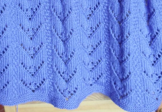 Baby Blanket Knitting Pattern Instant Download Pdf Blodwen