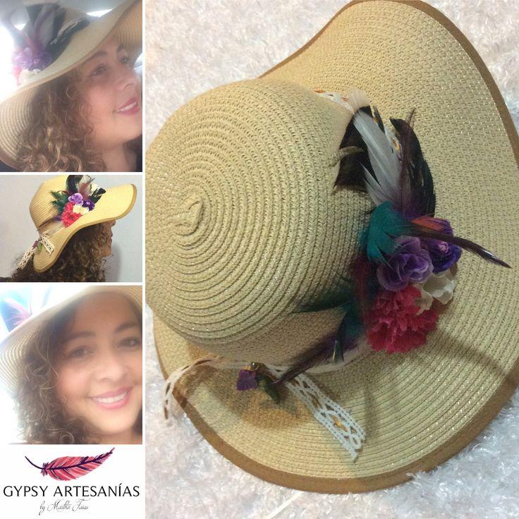 #hat #feather #sombreros #plumas #gypsy #bohemian
