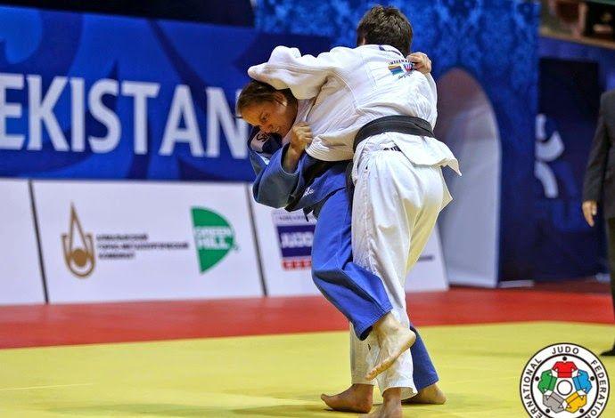 Blog Esportivo do Suíço: Maria Portela vence israelense e fica com o bronze em Tashkent