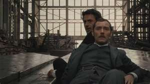 Robert Downey Jr & Jude Law In Sherlock Holmes.