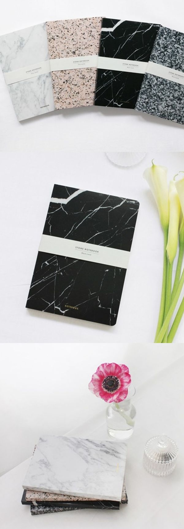 It looks really heavy!! But the Stone Notebook is actually a fantastic and useful notebook with a unique stone design for a cover!