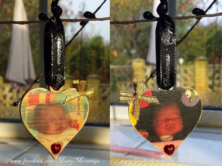 wooden Christmas decoration photos of your choice www.facebook.com/MistyMornings