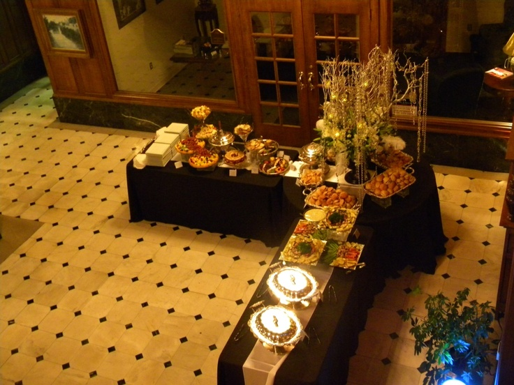 Image Detail For Heavy Hors Doeuvres Were Served Buffet Style To Guests