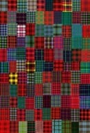 Scottish quilt - I want one :) (and of course...Buchanan sticks out like a sore thumb, lol...love my clan)