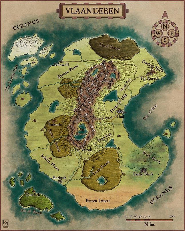 Fantasy world map 569 best Islands and