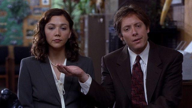 Maggie Gyllenhaal and James Spader - 'Secretary'