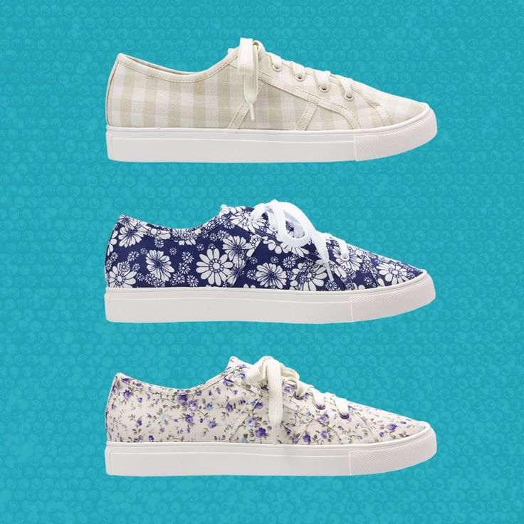 The adorable Pokey canvas sneakers by Gelato will put some spring in your step in cute and colourful prints! Available at Rosenberg Shoes in beige checks, blue lagoon, beige floral, violet floral and red elephant, and sizes EU 43-45.