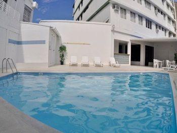 Piscina Hotel Verde Mar en San Andrés