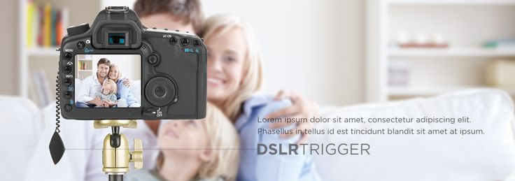 Remotely control your DSLR trigger with gestures
