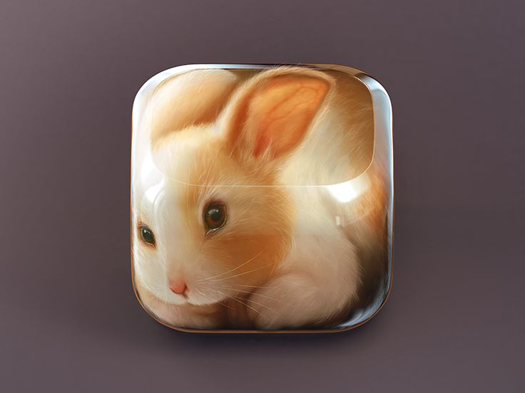 Bunny Icon by CreativeDash