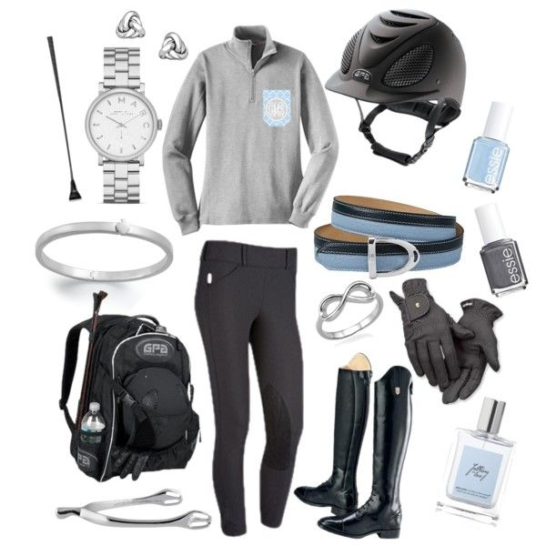 Baby Blue, Gray, Silver - Polyvore