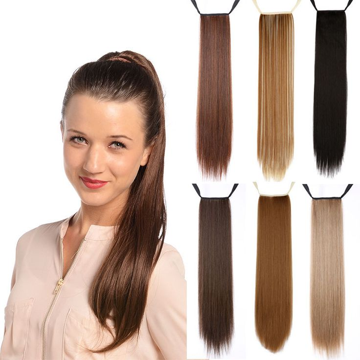 Cheap Straight Synthetic Ponytail Tress Apply Hair Clips in Pony Tails  Hairpiece Ribbon Ponytails fake Hair Extensions -- Click the VISIT button  to enter ...
