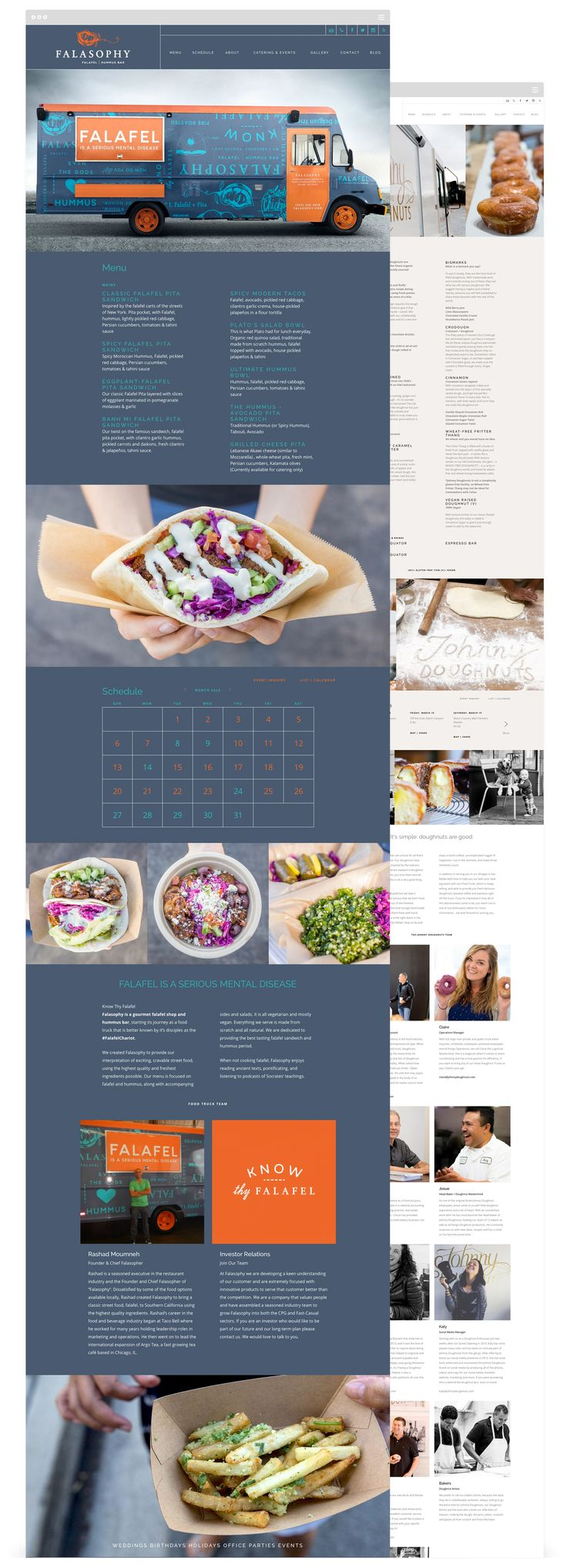 Website Development for Made for Food Trucks by Second + West. Food truck website builder.
