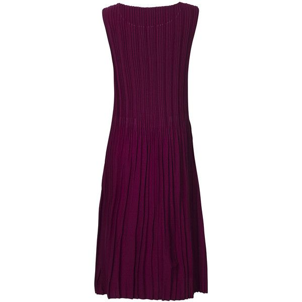 Vintage Sleeveless Pure Color Pokcet Ruffles Dress For Women ($21) ❤ liked on Polyvore featuring dresses, purple dress, flutter sleeve dress, summer dresses, ruffle sleeve dress and purple vintage dress