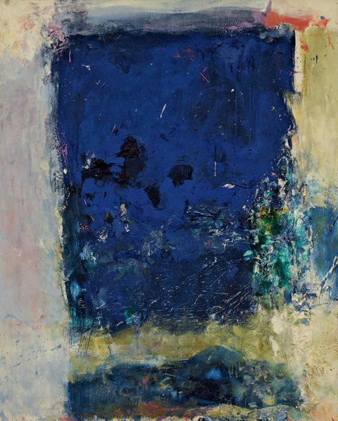 lonehands:    Joan Mitchell (1925-1992) Untitled, 1974  love the edge