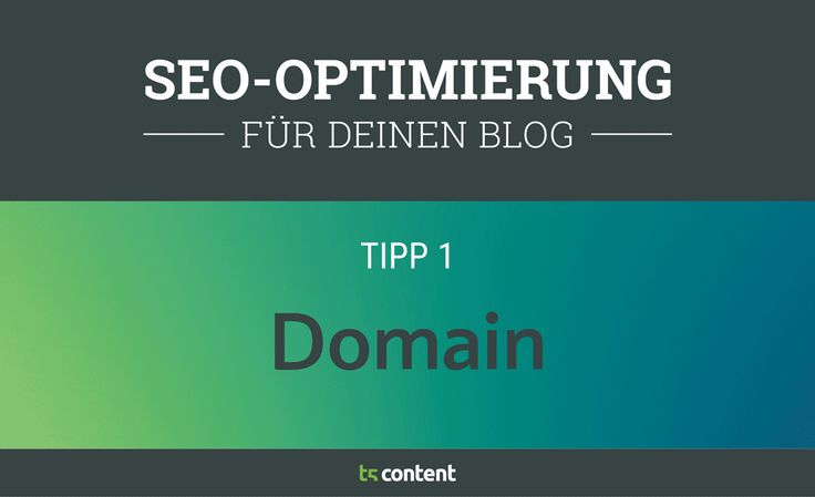 SEO-Optimierte Domain #SEO #Blog #Domain