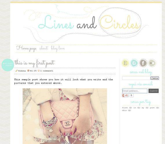 13 best ideas blogger images on pinterest blogger for Premade columns