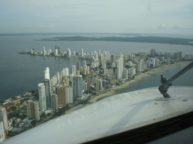 Flight- Cartagena- Colombia
