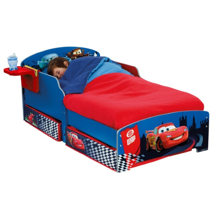 Un lit Cars à tiroir pour ranger tous ses secrets !