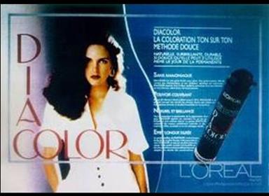 L'Oréal Professionnel crée la solution de coloration ton sur ton sans ammoniaque, c'est Diacolor. Les couleurs sont proches de la couleur naturelle des cheveux, couvrant en douceur jusqu'à 50 % des cheveux blancs.    © L'Oréal / DR