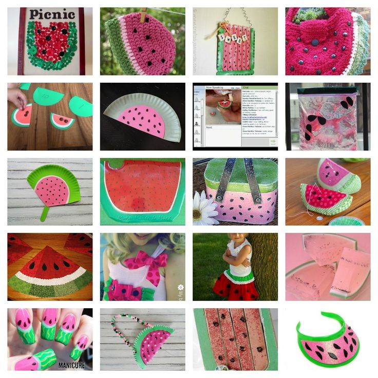 The 25 Best Watermelon Crafts Ideas On Pinterest