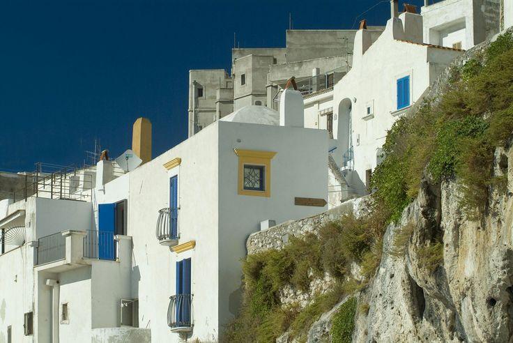 Peschici - Puglia [Whitewashed houses]