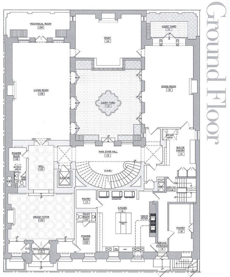 plan riad architecture - Поиск в Google Riad Pinterest
