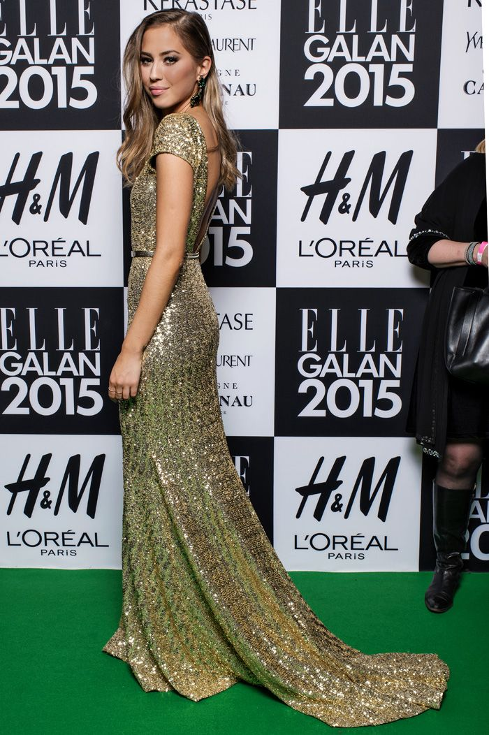 Love this dress, Elle galan 2015.