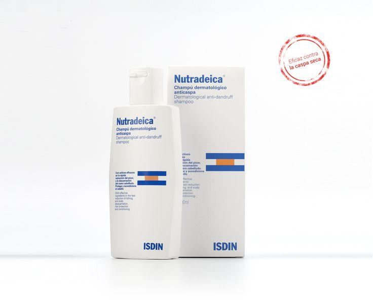 Nutradeica champú: Efectivo contra la caspa severa - ISDIN