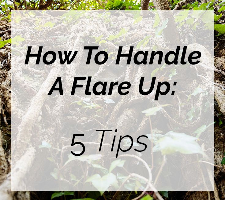5 tips for handling a fibromyalgia flare up on Fibro Geek