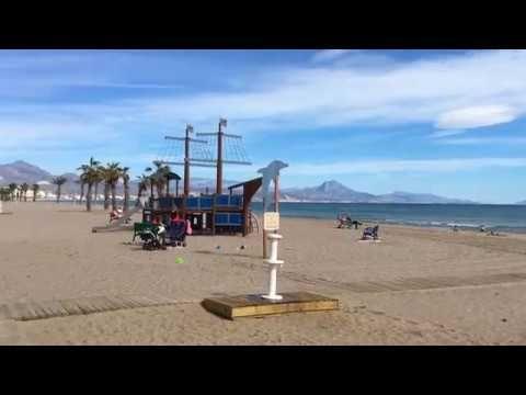 Квартира в Сан-Хуан-де-Аликанте на второй линии моря, 100 м от пляжа San...