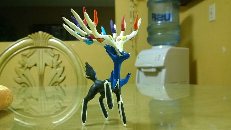How To Make Xerneas Out Of Clay #pokemon #tv