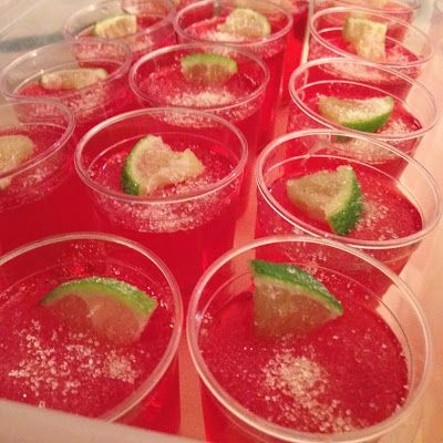 MixMixMix: Strawberry Margarita Jello Shots