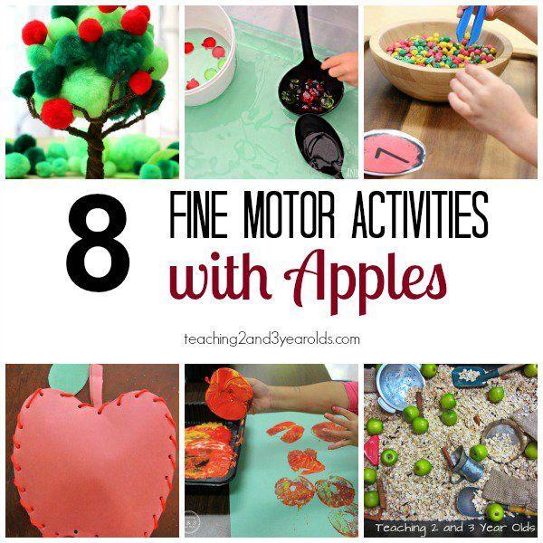 Fall Fine Motor Activities For Preschoolers Activities