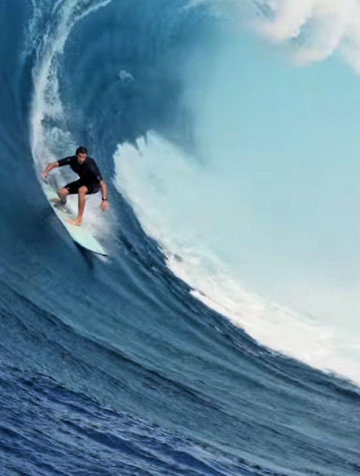Beautiful Big Wave Surfing Ideas On Pinterest Huge Waves - Surfing inside 27 second long barrel wave