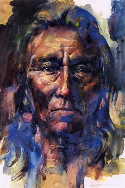 """To Remember"" Watercolor Stan Miller"