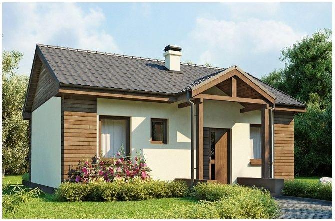 Z 11 (50,70 m2) | TROMAR Domy drewniane, domki letniskowe, domki ogrodowe, altany i altanki ogrodowe pomorskie, Trójmiasto