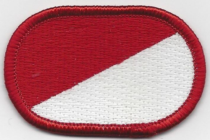 91st Cavalry Regiment 1st Squadron Oval Patch