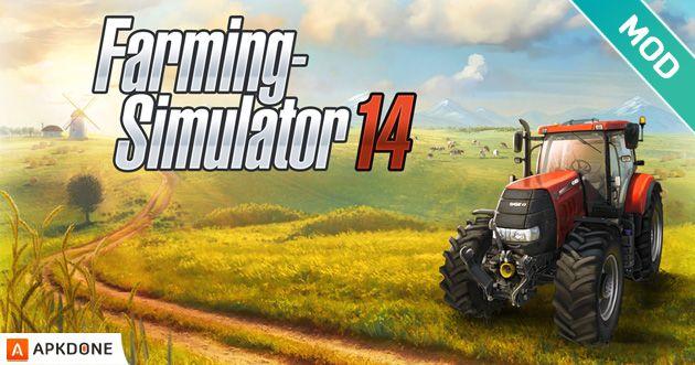 New Apk Farming Simulator 14 V1 4 4 Mod Unlimited Money Updated Moddedgames Androidgames Farming Simulator 14 Farming Simulator Farm Games