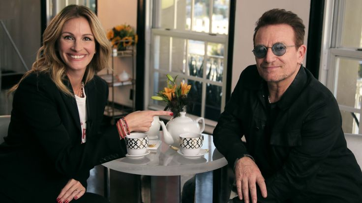Enjoy a Cup of Tea with Julia Roberts and Bono - Sometimes the most unique pairings make the most delicious meal, and that's exactly the case with this experience. Bono and Julia Roberts are getting afternoon tea, and you and a friend are joining them at the table, where you'll discuss life, love and the meaning of the universe. Need advice? Bring your problems and Bono and Julia will do their best to help... even if that means treating you to something stronger than tea. It'll be like…