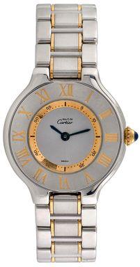 Vintage Must de Cartier Watch, 27mm